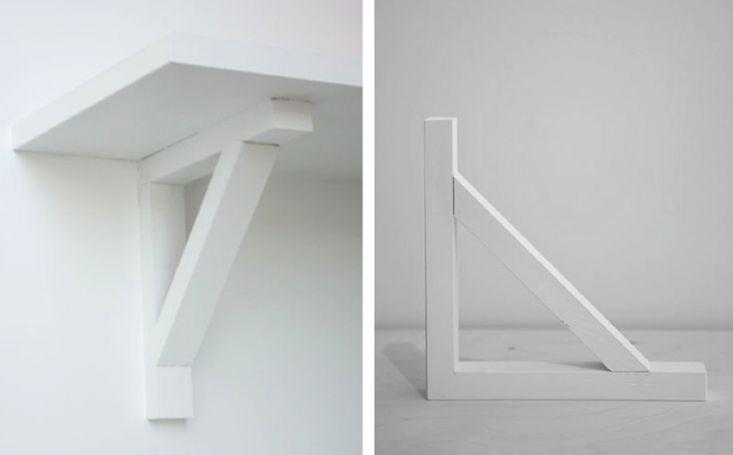 make shelf brackets | Father Rabbit Limited Shelf Bracket | Remodelista