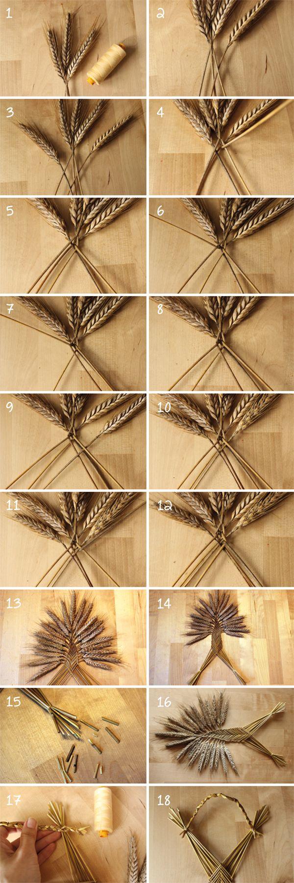 Straw Weaving   Welsh Border Fan
