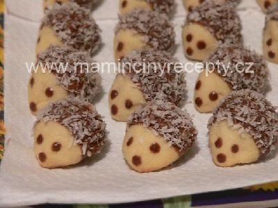 Kokosoví ježci s oříškem