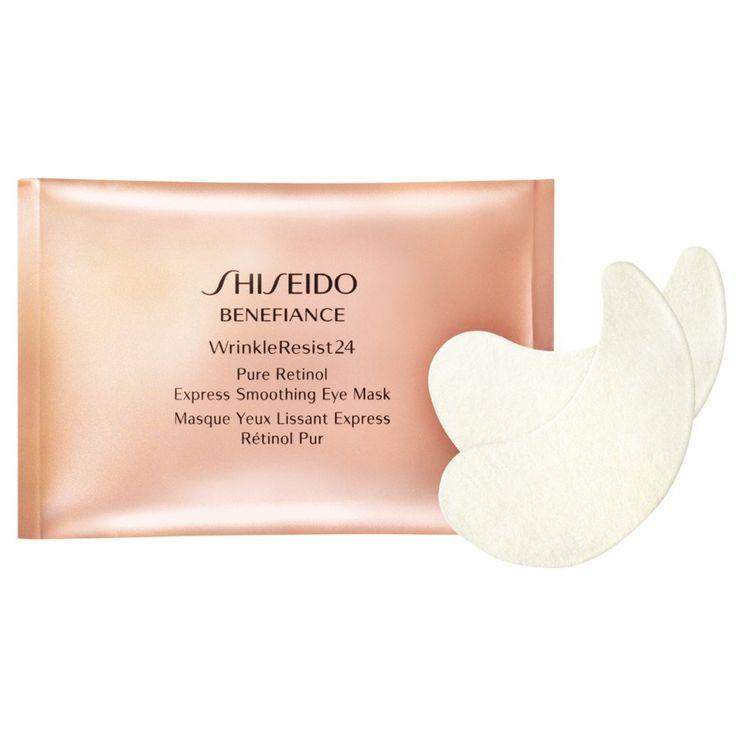 maschere Shiseido, le Wrinkle Resist 24 – Pure Retinol Express Eye Mask