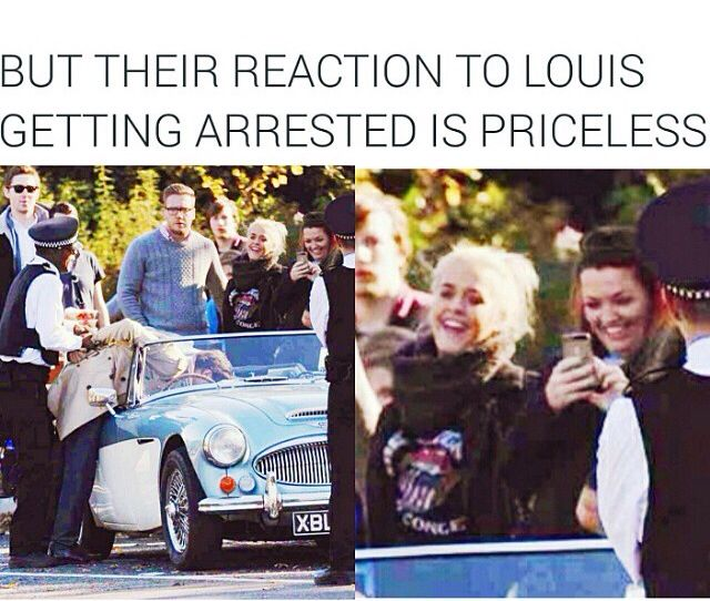 Lol Louis mom and sister on the set of night changes video