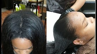 PART 1 Touchup/Update Japanese Hair Straightening/Thermal Reconditioning…