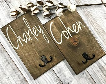 Monogrammed wedding gift for the bride and groom. Give the gift that will last a lifetime with this custom handcrafted rustic wood sign.  Last Name Sign Family Initial Home Sign Family Name Sign #woodsign #wedding #bride #groom #gift Towel