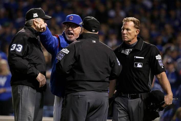 Should Mlb Get Rid Of Umpires Mlb Dodgers Cubs