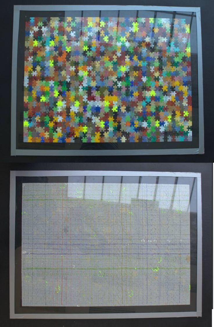 "Saatchi Art Artist Jan Mikšík; Painting, ""puzzle2"" #art"