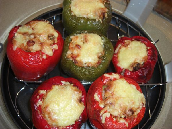 SiliconeMoulds.com Blog: Stuffed Peppers - Halogen Oven Recipe (GUEST RECIPE - HELEN)