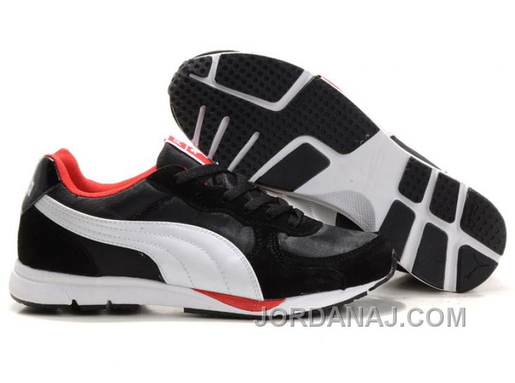 Mens Puma New Shoes In Black/White/Red Top Deals