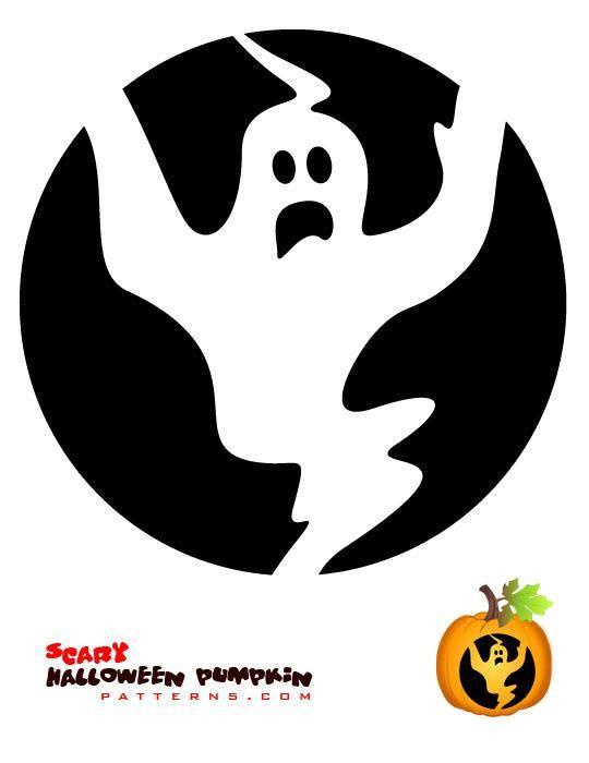 28 best halloween pumpkin stencil ideas images on pinterest halloween pumpkins pumpkin for Ghost pumpkin stencil