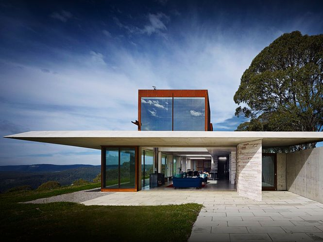 Casa 'Invisible House'. Arquiteto: Peter Stutchbury.