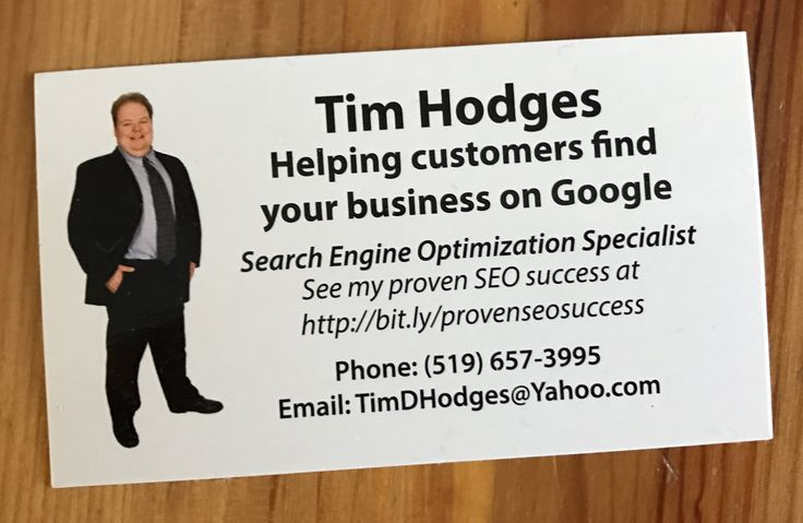 SEO Expert Consultant in London Ontario Canada  Why hire anyone to do your SEO?  Hire someone with a published list of their proven SEO results. Tim Hodges is one of a few SEO expert Consultants in London Ontario who has a list of results to prove his success. Simply visit his website today http://www.timdhodges.ca to see his results.  Remember if the firm you are looking at doesn't have published SEO results, do they really rank for anything?