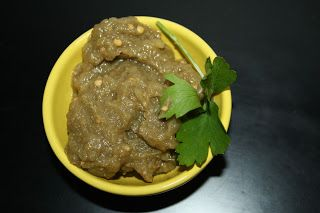 Il caviale di melanzane con la ricetta libanese