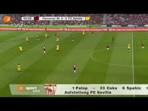 Europapokal 2011: Hannover 96 - Sevilla