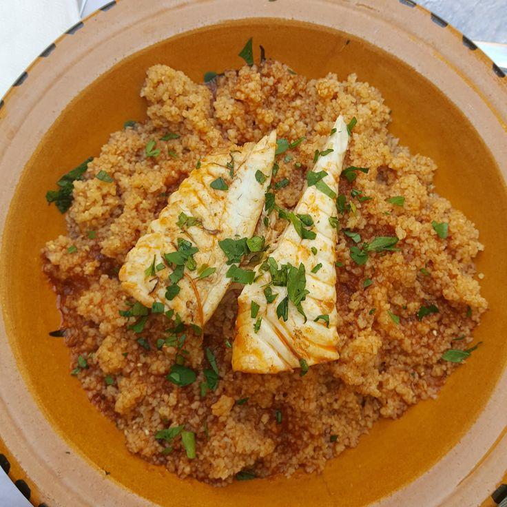 Une recette de couscous de poisson typique de la Sicile, que l'on trouve dans les restaurants du côté de Trapani