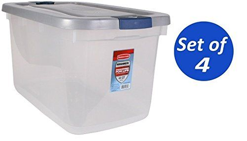 66 Qt Sterilite Clearview Storage Containers
