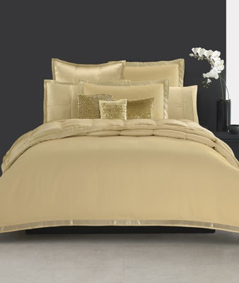 donna karan bedding modern classics gold leaf collection bedding collections bed u0026 bath macyu0027s bridal and wedding registry