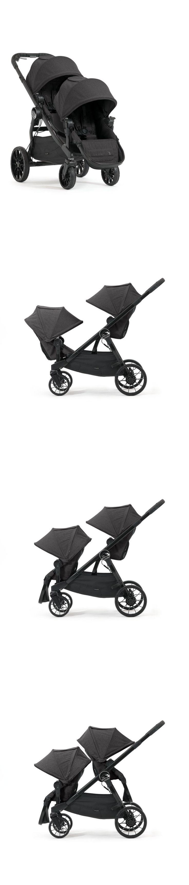 Strollers 66700: Baby Jogger City Select Lux Stroller Into Double Stroller Large Storage Basket -> BUY IT NOW ONLY: $246.57 on eBay!