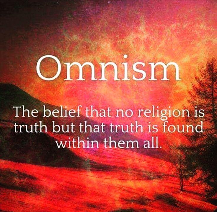 The belief that no religion is truth but that truth is found within all of them.