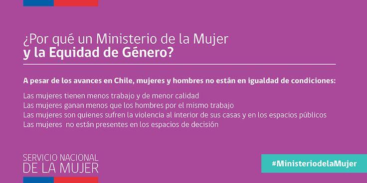 ¿Por qué Chile necesita un Ministerio de la Mujer y la Equidad de Género?