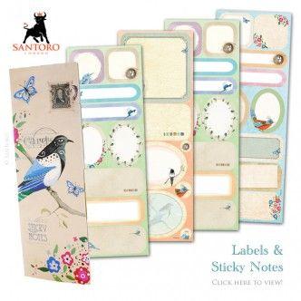 santoro sticky notes