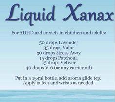Liquid Xanax, using