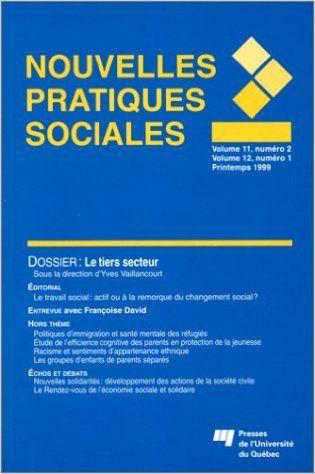 Revue Nouvelles pratiques sociales vol 11 # 2: Amazon.ca: Collectif: Books