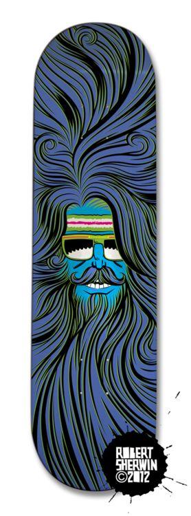 Beard Hippy board