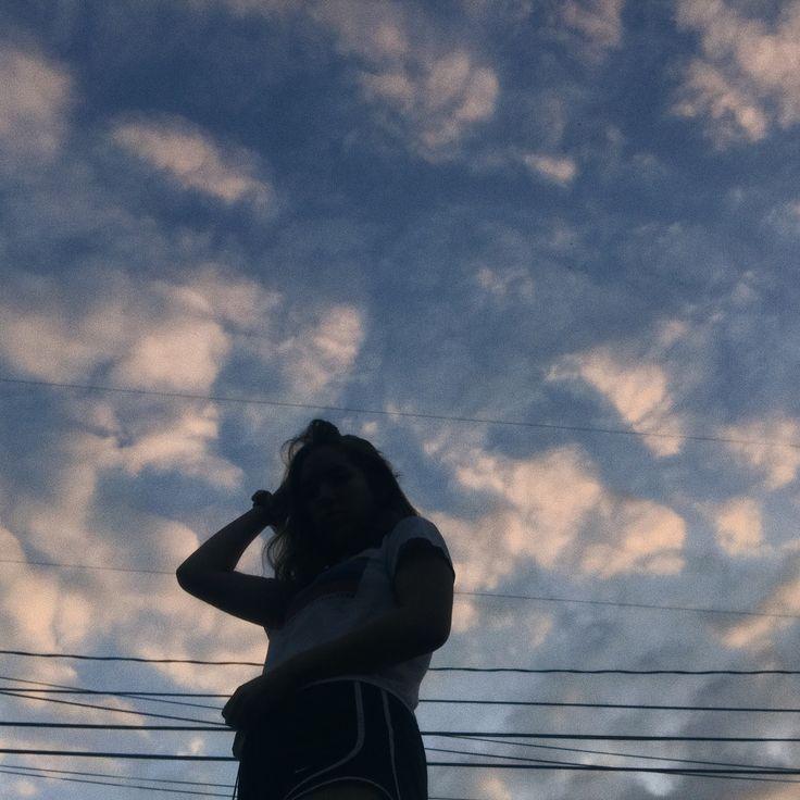 Clouds Shadow Photoshoot Photoideas Aesthetic Cute Girl