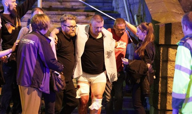 TERROR IN MANCHESTER – ISIS SUPPORTERS CELEBRATE AFTER 22 PEOPLE KILLED, 59 INJURED AS SUICIDE BOMBER HITS THE UK