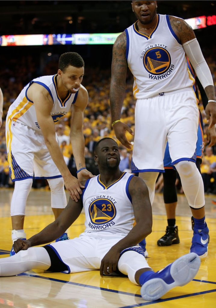 Draymond Green returns, Warriors beat Thunder to stay alive