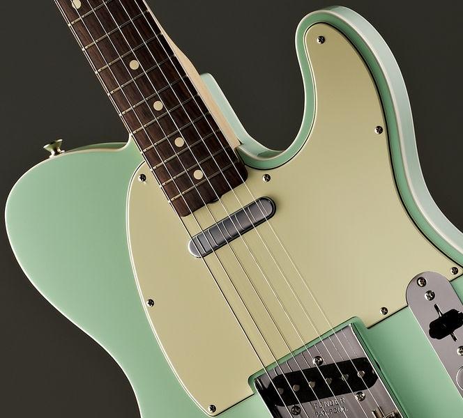 An Evolving Mood Board Assembled Impulsively In Kansas: Fender 62 Vintage Custom Tele Surf Green