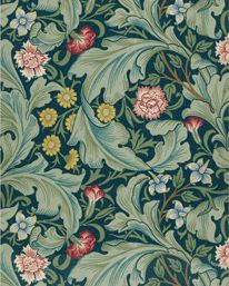 Leicester Woad/Sage från William Morris & Co