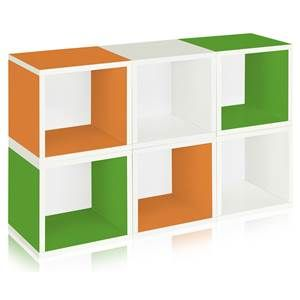 6-Pc Modular Storage Cube Set