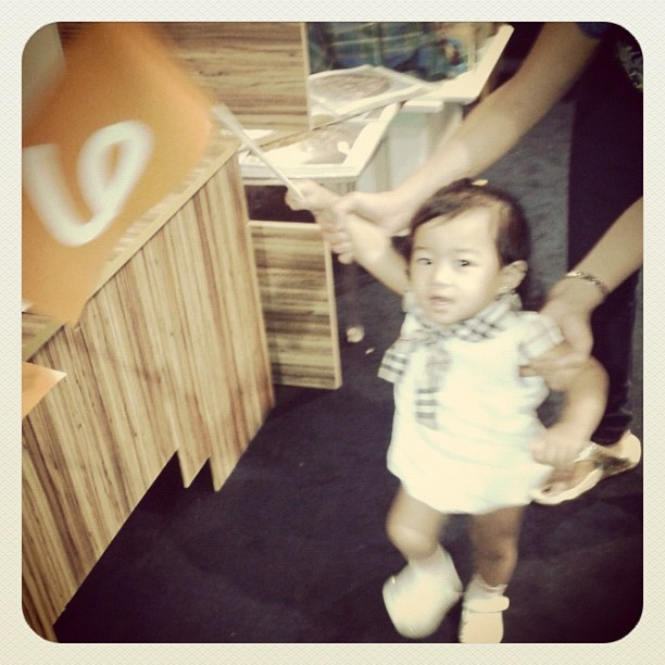One of our cute and hyper fans at @alsnboook