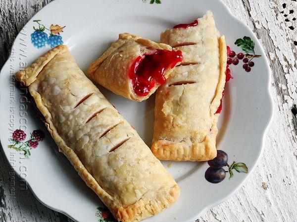 McDonalds Cherry Pie Copycat @Amanda Formaro Amanda's Cookin'