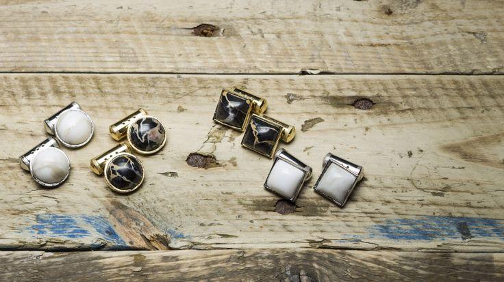 Stonecycle Marble Cufflinks #stonecycle #cufflinks #jewellery #gemelli #marblejewellery #madeincarrara #francescomottini #marble #marbledesign