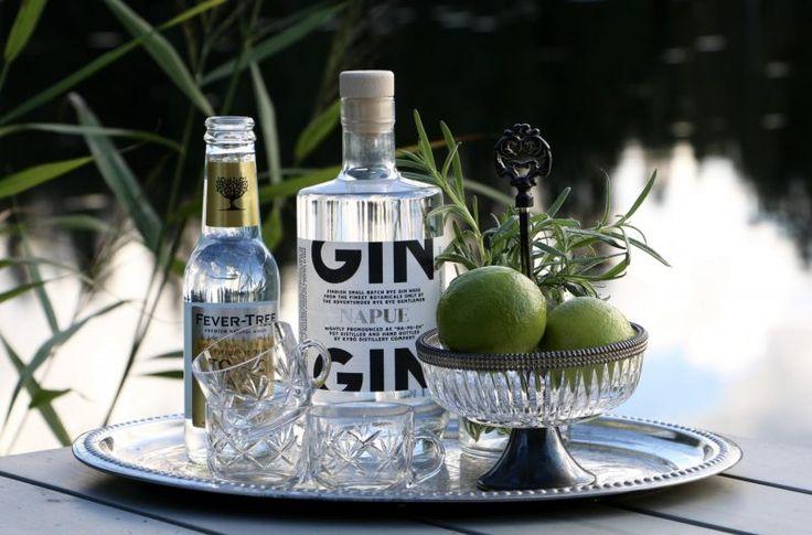 World's Best G&T recipe made with Napue Gin, Kyrö Distillery Company | Recipe over at Karoliina Kazi