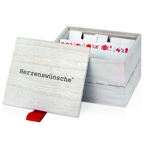 Tolle Geschenkidee: Wünschebox.