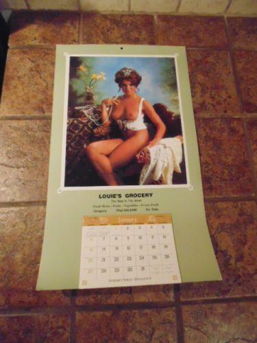 Vintage Calendar Girl Art : Best images about vintage calendars on pinterest