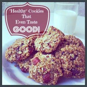 Healthy Cookies That Even Taste Good! - http://LivingNaturaler.com/healthy-cookies-that-even-taste-good/