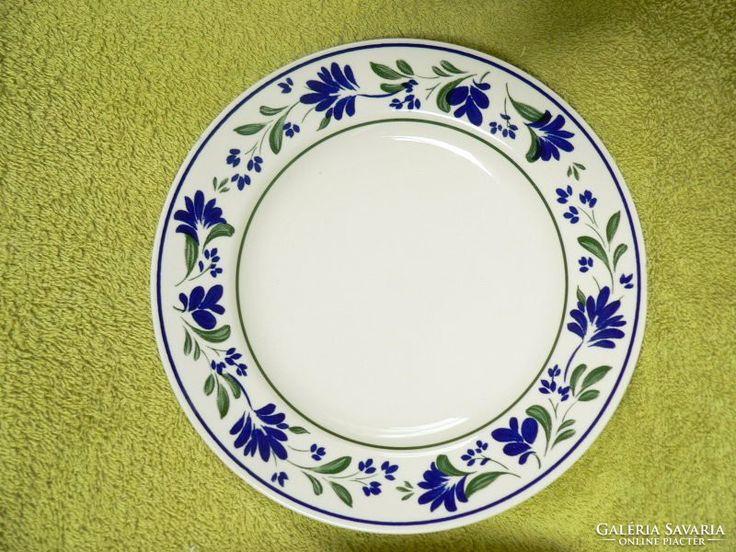 Angol porcelán sütis tányér