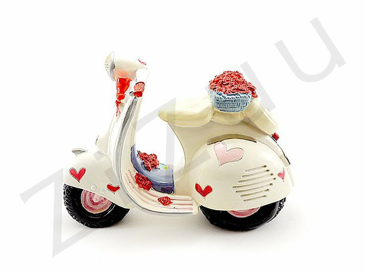 "Salvadanaio in resina ""Vespa Love"" 