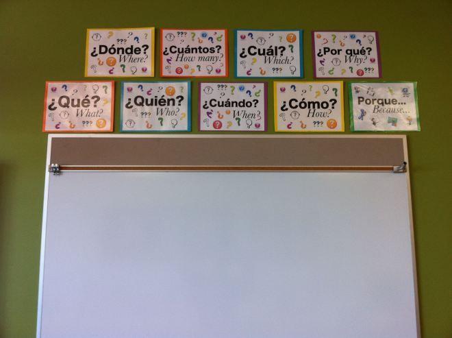 Creating my Spanish classroom
