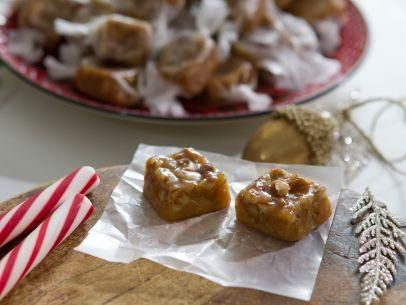 "Caramel Candy (Cookie Swap) - Trisha Yearwood, ""Trisha's Southern Kitchen"" on the Food Network."