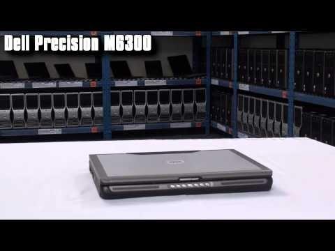 "Notebook Dell Precision M6300 Intel Core 2 Duo 2,1 GHz T7500, 2 GB RAM, 120 GB HDD, DVD-ROM, 17"", COA štítek Windows Vista Bus. s kabelem"