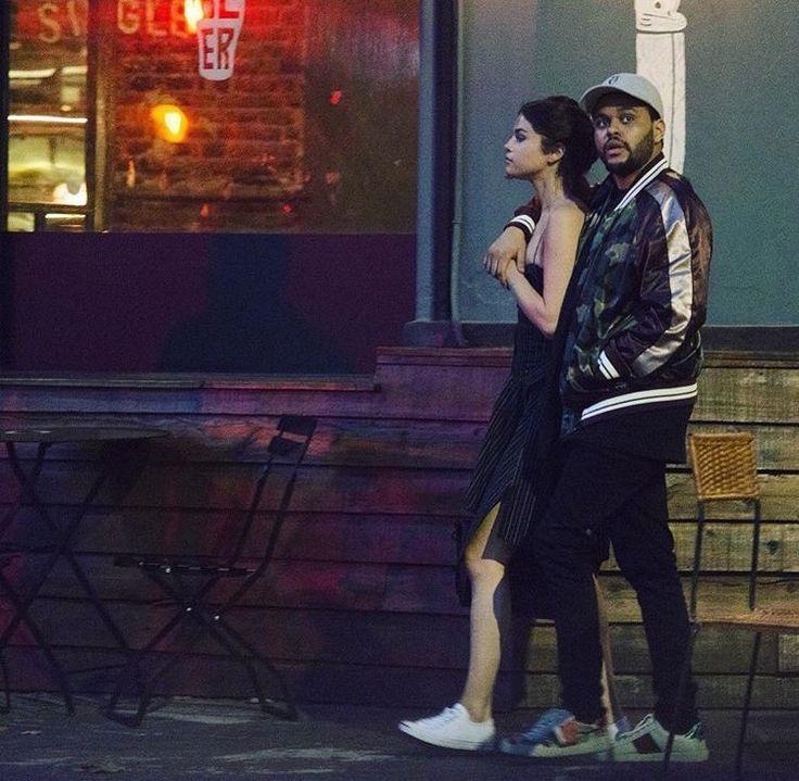 Abel Tesfaye (The Weeknd) and Selena Gomez