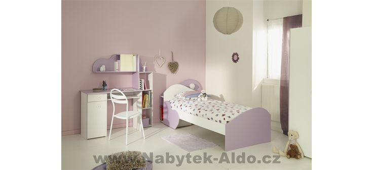 Dětský pokoj pro holku Mila 2510