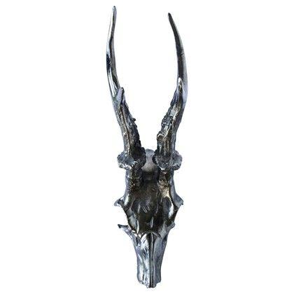Oh My Deer Skull Head Antracit Medium