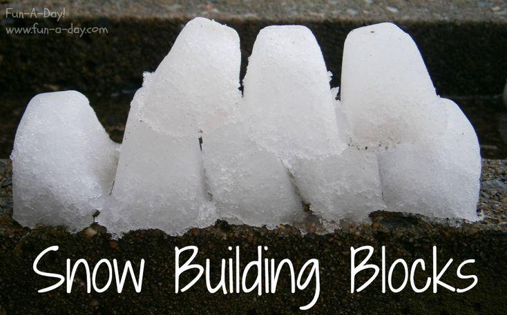 Snow Building Blocks