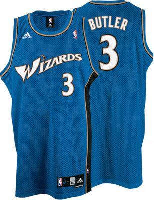... Washington Wizards Caron Butler 3 Blue Authentic Jersey Sale ... 2d872b358