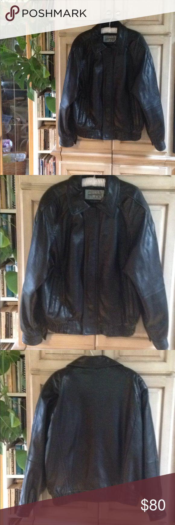 Wilson Leather Pelle Studio men's coat EUC Pelle studio
